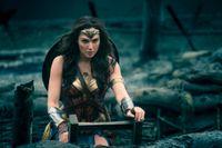 Wonder woman. Arkivbild.