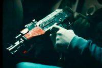 Artisten skrev om att göra en drive-by-skjutning och använde en AK47:a i en video. Samma vapen användes då en flicka dödades vid en drive-by-skjutning, enligt misstankarna.