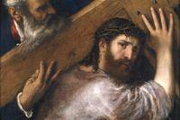 """""""Kristus bär korset"""", av Tizian (1505)."""