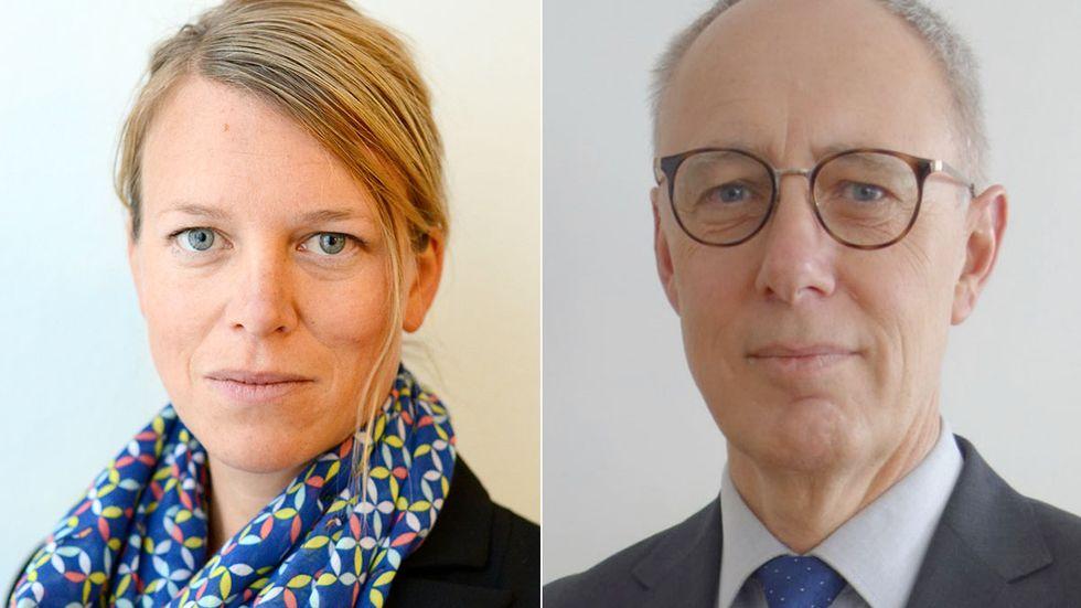 Kristina Wikner och Thomas Lindén.