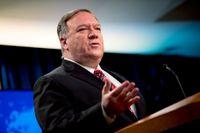Varnar Europa för Kina. USA:s utrikesminister Mike Pompeo är på stridsstigen. Arkivbild.