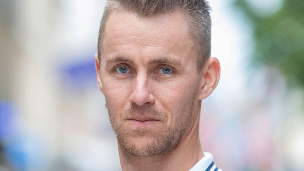 Leksands tränare Mathias Olsson. Arkivbild.