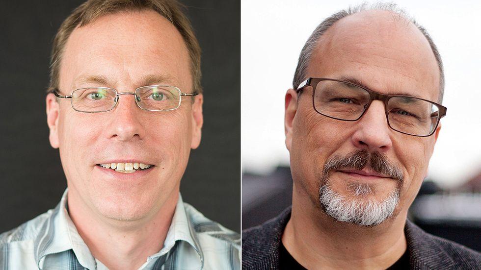 Ulf Gustafsson och Patrik Lindenfors