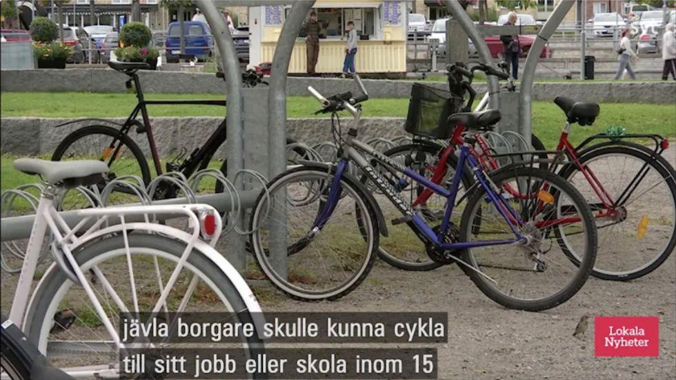 Från i SVT Gävleborgs sändning den  7 september.
