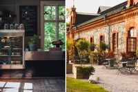Fem fantastiska trädgårdscaféer