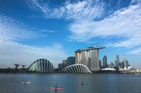 Ericsson och Nokia ska båda bygga ut 5G-nät i Singapore. Arkivbild.
