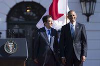 Japans Shinzo Abe och USA:s Barack Obama möttes förra veckan.