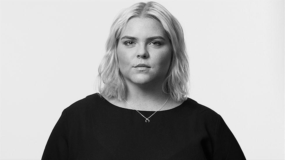 Johanna Nordström är komiker, aktuell med turnén Ring polisen och Stora humorkalaset på Sofiero, Dalhalla och Skuleberget.