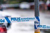 Polisen sköt så kallad verkanseld mot en man i Uppsala på lördagen. Arkivbild.