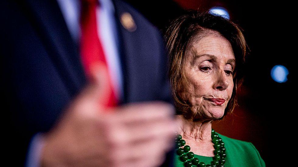 Nancy Pelosi.