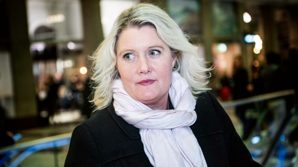 Lena Rådström Baastad, partisekreterare för S och en av artikelns undertecknare.