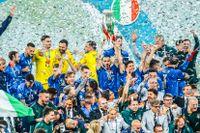 Italien vann EM-finalen i fotboll mot England