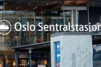 Centralstationen i Oslo. Arkivbild.
