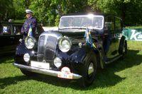 """Kungens Daimler, som också kallas """"Bröllopsbilen"""" renoverades under 2008 och 2009 och är i mycket bra skick."""