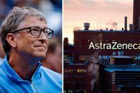 Bill Gates har tecknat ett avtal med Astra Zeneca.