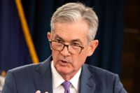 Federal Reserve-chefen Jerome Powell.