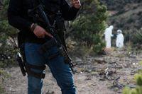 Minst 215 kroppar har hittats under det senaste halvåret i närheten av staden Guadalajara. Arkivbild.
