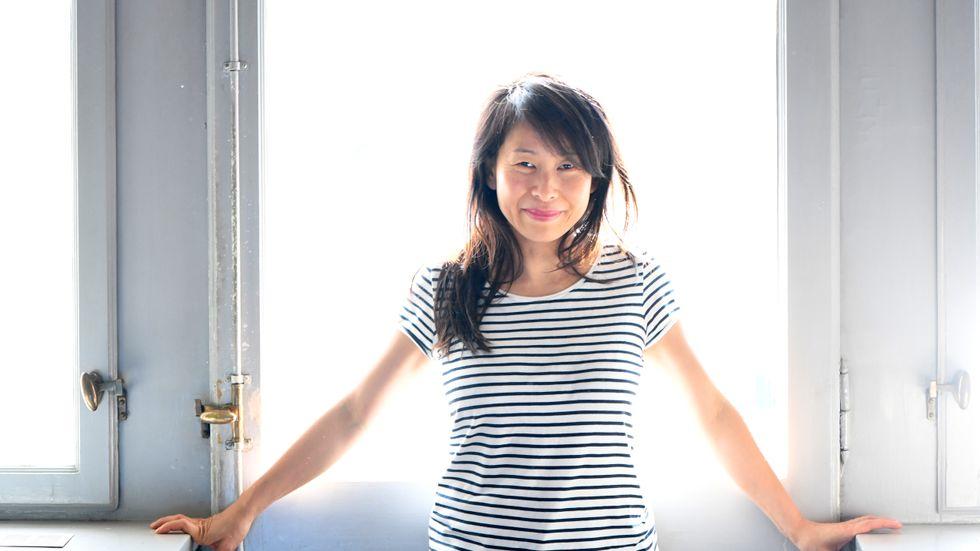 Kim Thúy är en av fyra författare som har chans till Den Nya Akademiens litteraturpris. Arkivbild.