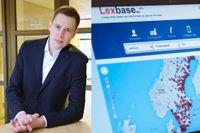 Laxebase-grundaren Jonas Häger.