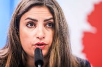 Vänsterledaren Nooshi Dadgostar och hennes partiledning klev in och lade om kursen när en majoritet i riksdagsgruppen ville säga nej till regeringens undantagslag för Cementa och kalkbrytningen på Gotland.