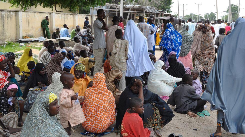 Tusentals människor i Nigeria befinner sig på flykt undan Boko Haram. Arkivbild.