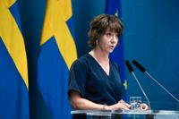 Matilda Ernkrans (S), minister för högre utbildning och forskning, har kallat till pressträff om högskoleprovet. Arkivbild.