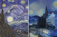 En av verken målades av van Gogh – en skapades av AI – ser du skillnad?