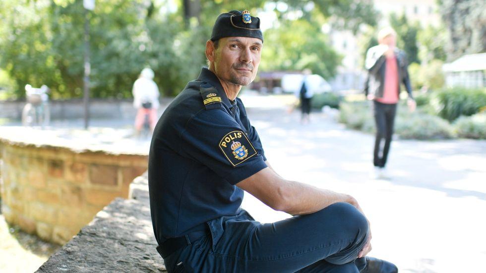 Daniel Godman, nationell specialist och verksamhetsutvecklare på polisens nationella operativa avdelning, Noa.