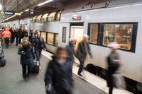 SJ slog rekord i antalet resenärer även under 2018. Arkivbild.