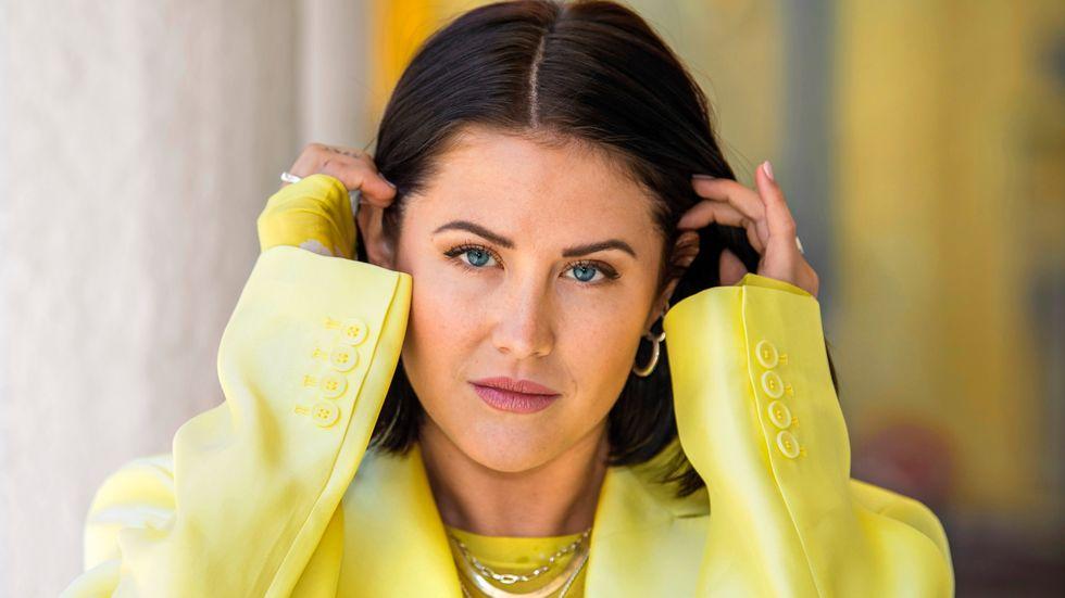 """Molly Sandén sjunger på Oscarsnominerade låten """"Husavik (my hometown)"""" som kan vinna en Oscar i natt."""