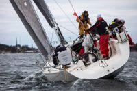 Efter en blåsig start kunde till slut Du Soleil ta hem totalsegern i Offshore Race.