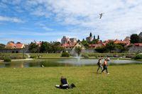Almedalsveckan omsätter omkring 750 miljoner kronor per år, enligt projektledaren Mia Stuhre på Region Gotland. Arkivbild.