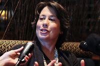 Sheila Bair är rankad som den näst mäktigaste kvinnan i världen på Forbes topp-100-lista.