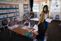 Vaccinationsgraden i Kalifornien behöver bli bättre, enligt delstatens guvernör. Arkivbild.