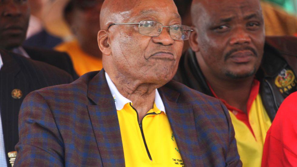 Sydafrikas president Jacob Zuma. Arkivbild.