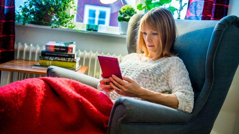 Förra året gjordes 2,3 miljoner lån av e-böcker. Arkivbild.