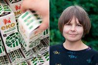 Elin Röös forskar kring hållbar matproduktion.