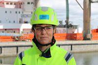 Karin Comstedt Webb, hållbarhetschef för Cementa och Heidelberg Cement norra Europa. Foto: Cementa