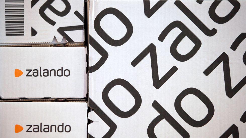 Zalando redovisar sina siffror för andra kvartalet. Arkivbild.
