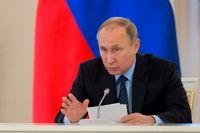 Rysslands president Vladimir Putin. Arkivbild.