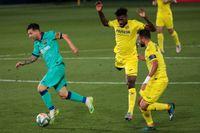 Lionel Messi har lekstuga mot Villarreal.