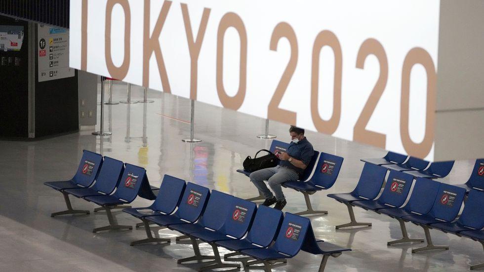 Öde på Tokyos flygplats Narita.
