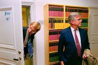 Alf Svensson var partiledare för KD i över 30 år. 1991 lyckades partiet ta sig in i riksdagen för första gången.