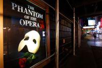 Tidigast i januari 2021 kommer Broadwayteatrarna att kunna välkomna publik igen. Arkivbild.