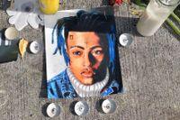 Minnesplats för XXXTentacion i Florida efter att han skjutits till döds vid ett rån.