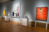 Miró-utställningen på Waldemarsudde i Stockholm, ett av de museer som har nominerats till Årets museum 2017. Arkivbild.