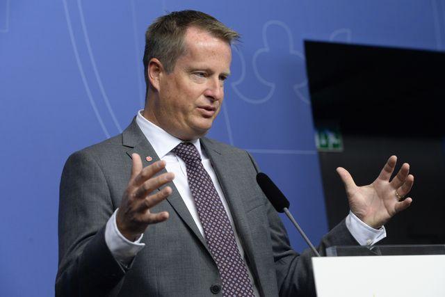 Inrikesminister Anders Ygeman presenterade på fredagen regeringens nya strategi mot terrorism.