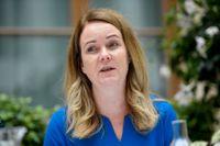 Landsbygdsminister Jennie Nilsson (S) väljer helst svensk ost.
