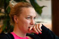 Sarah Sjöström har drabbats av ryggproblem igen inför finalen i ISL. Arkivbild.
