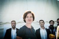Moderaternas partiledare Anna Kinberg Batra under partiets dag i Almedalen.